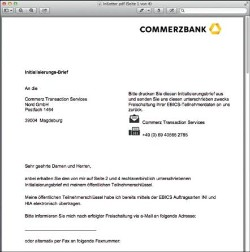 commerzbank how to pay online